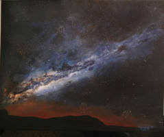 The Milky Way MY PAINTING by cliford417