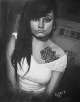 Rose Dylon gg my painting by cliford417
