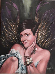 Faery Princess my painting by cliford417