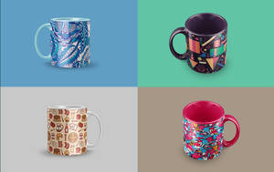Free Mug Mockup by BlatomDesign