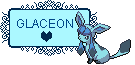 Glaceon Stamp  by TheLuckyOneX