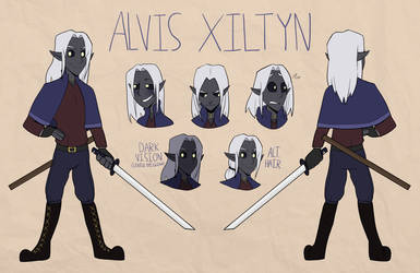 Alvis Xiltyn (Ref) by Shake666Productions