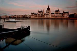 reflections of budapest III by torobala