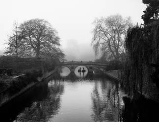 Foggy Morning In Cambridge V (BW) by torobala