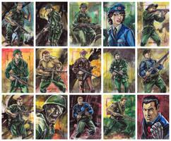 Sgt Fury and Howling Commandos by AEVU