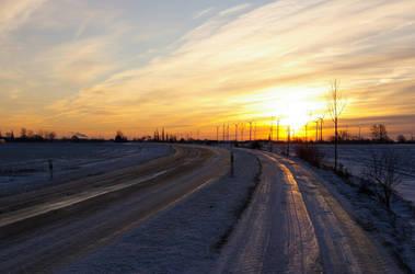 Icy Street by foxblock