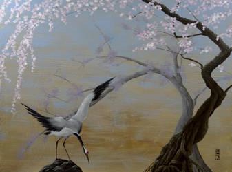 Crane by Anna-K-AREN