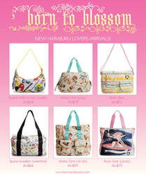 new bags at Born To Blossom by de-tec-tive