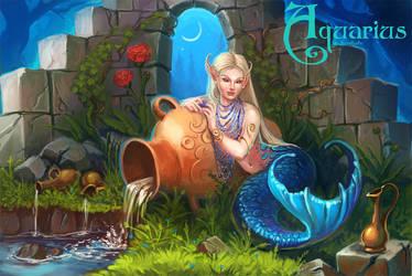Zodiac: Aquarius by Sedeptra