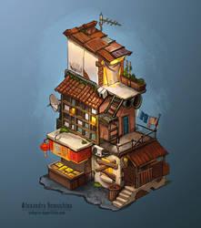 Ghetto house by Sedeptra