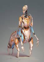 Robot 4 by Sedeptra