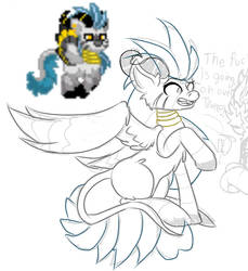 Pony WIP by violetelementpaws