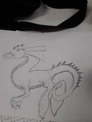 Sea Dragon  by Tiamatshapeshifter