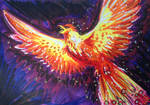 Fire Bird by Hopehopey