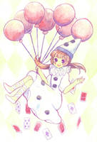 Happy Pierrot by Fuumaru