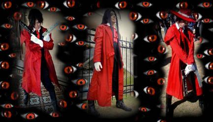 Alucard cosplay my three versions by VladTurunen