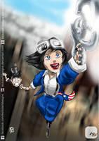 Bioshock Infinite: Fly-By Lizzy by KickStartDesigns