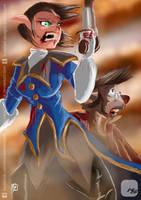 Treasure Planet - Captain Amelia by KickStartDesigns