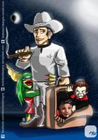 Robert Picardo - Out of This World (Arcadecon '14) by KickStartDesigns