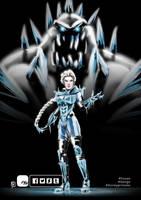 Battle Queen Elsa by KickStartDesigns
