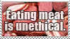 Only Assholes Eat Meat by Haters-Gonna-Hate-Me