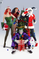 Xmas in Gotham City by Rei-Doll