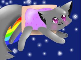 Nyan Cat! by Cat22keke