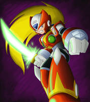 Colored Zero Sketch by The-Firestorm