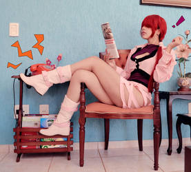 Oh! Must be Yashiro. by Shermie-Cosplay