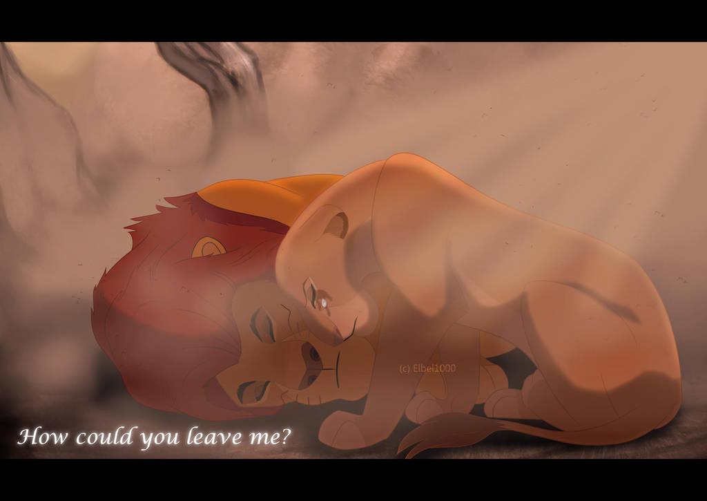 Mufasa's Death by Elbel1000