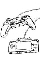 Inktober Day 19: Gamecube Controls by WyreCats