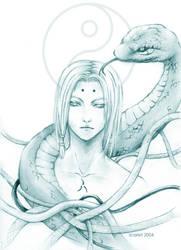 Naruto - Kimimaro by scarlet-visions