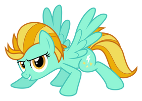 Lightning Dust is ready (SVG) by Puetsua