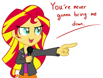Sunset Shimmer by Puetsua