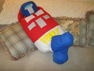 Optimus Prime Pillow by Vixenator80