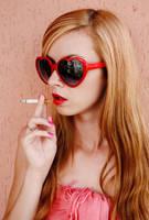 Sexy smoking by jurajkolarik