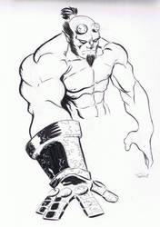 Hellboy by TeeMinus