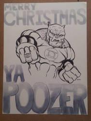 Kilowog Christmas! by TeeMinus
