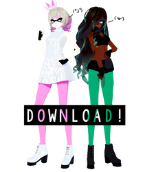 [ MMD SPLATOON 2 ] :: Off The Hook :: [ DOWNLOAD ] by DjCadenkyHatsune