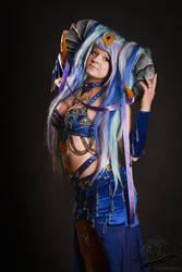 Tarecgosa, Queen of Dragons (Warcraft) by StarletTiger