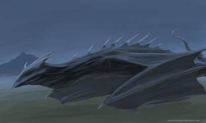 -Fog Dragon- by realTurtleNipple