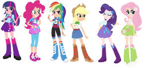 Alt Equestria Girls by NexusPieXIII