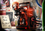 Distressland: Pocket Pixie: Ruby's Broken Device by Aster-Effect