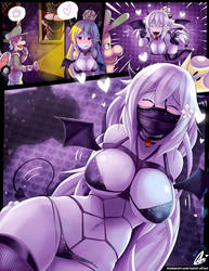 Booette and Luigi Mansion 3/4: Succubus by Aster-Effect