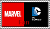 Both Marvel And DC Fan Stamp by FireMaster92