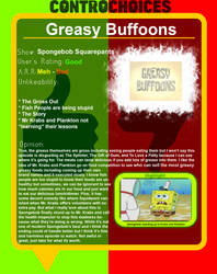 Controchoices - Greasy Buffoons by FireMaster92