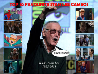 My Top 10 Favorite Stan Lee Cameos by FireMaster92