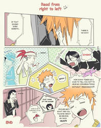 Bleach cut scenes :3 by lindarielsurion