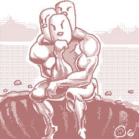 A DUGTRIO IS MELANCHOLY by BLKMKT-ARCHIVE
