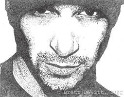 Tom Morello Stipple by liquidnumb